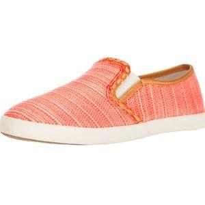 Jack Rogers Baldwin Sneakers Slip On In Fire Coral